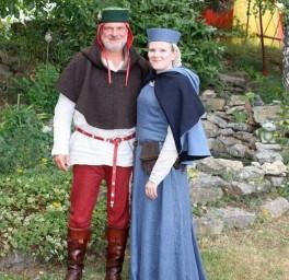 Wernher der V. und Christina von Nuihusen